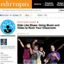 Check out the First Grade Blues Band in the Press!